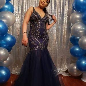 Daughter junior prom dress